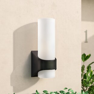 Chalmers 1-Light Outdoor Sconce by Wade Logan