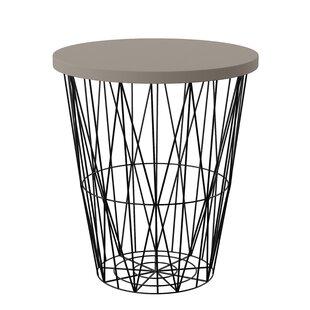 Delma Stone/Concrete Side Table