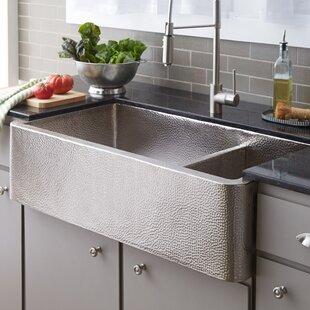 Copper farmhouseapron kitchen sinks youll love wayfair save to idea board workwithnaturefo