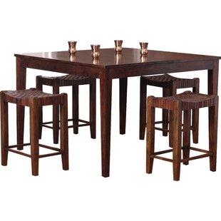 Mistana Alessandro 5 Piece Counter Height Dining Set