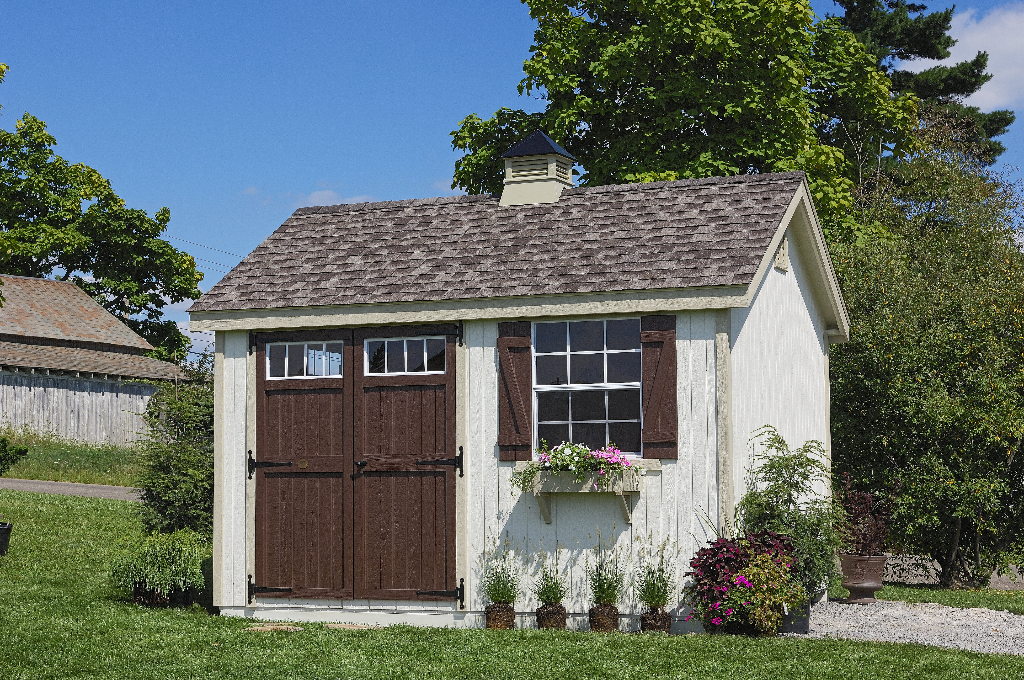 Colonial Pinehurst Wooden Storage Shed