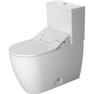 Duravit Me by Starck 1.28 GPF (Water Efficient) Elongated Two-Piece Toilet..