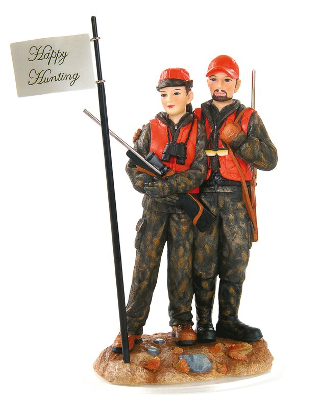 Deer Hunting Cake Topper