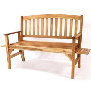Kjetil Wooden Bench By Sol 72 Outdoor