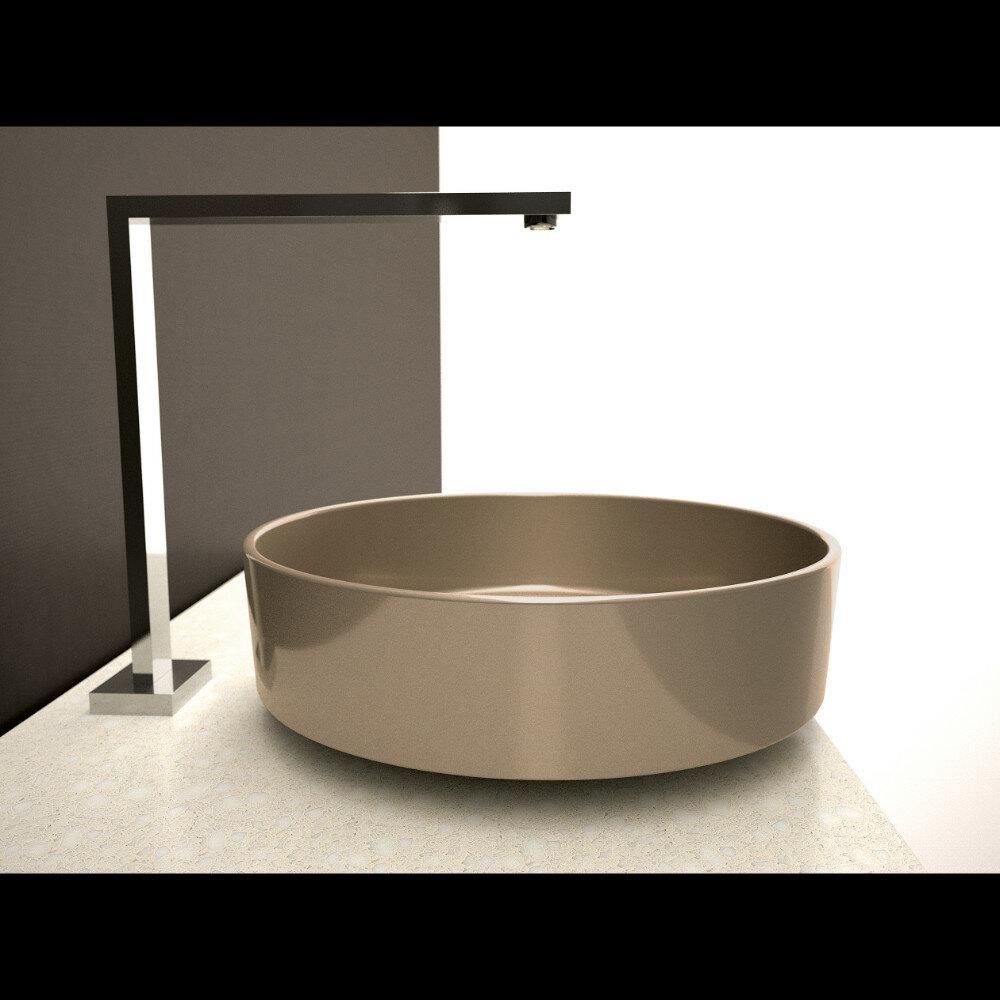 Maestrobath Metropole Starlight Circular Vessel Bathroom Sink Wayfair