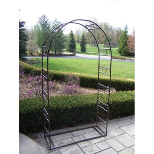 Oakland Living Single Iron Arbor with Base