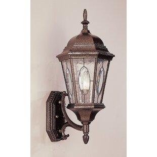 Hensen 1-Light Outdoor Sconce by Alcott Hill