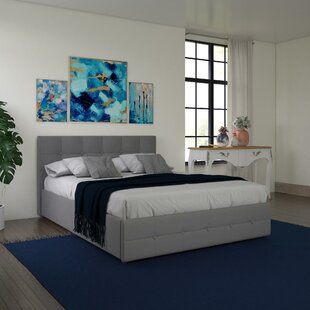 Queen Bed Frame With Storage.Queen Size Storage Included Beds You Ll Love In 2019 Wayfair
