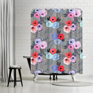 Emanuela Carratoni Handmade Garden Single Shower Curtain