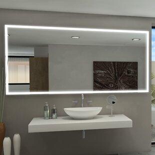 Bargain Kristian Illuminated Bathroom/Vanity Wall Mirror ByOrren Ellis