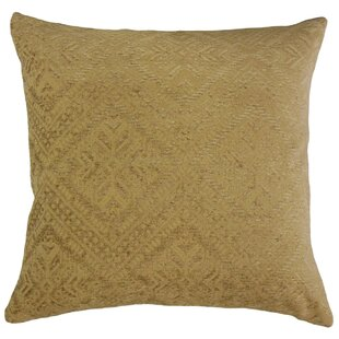 Mountview Geometric Velvet Pillow