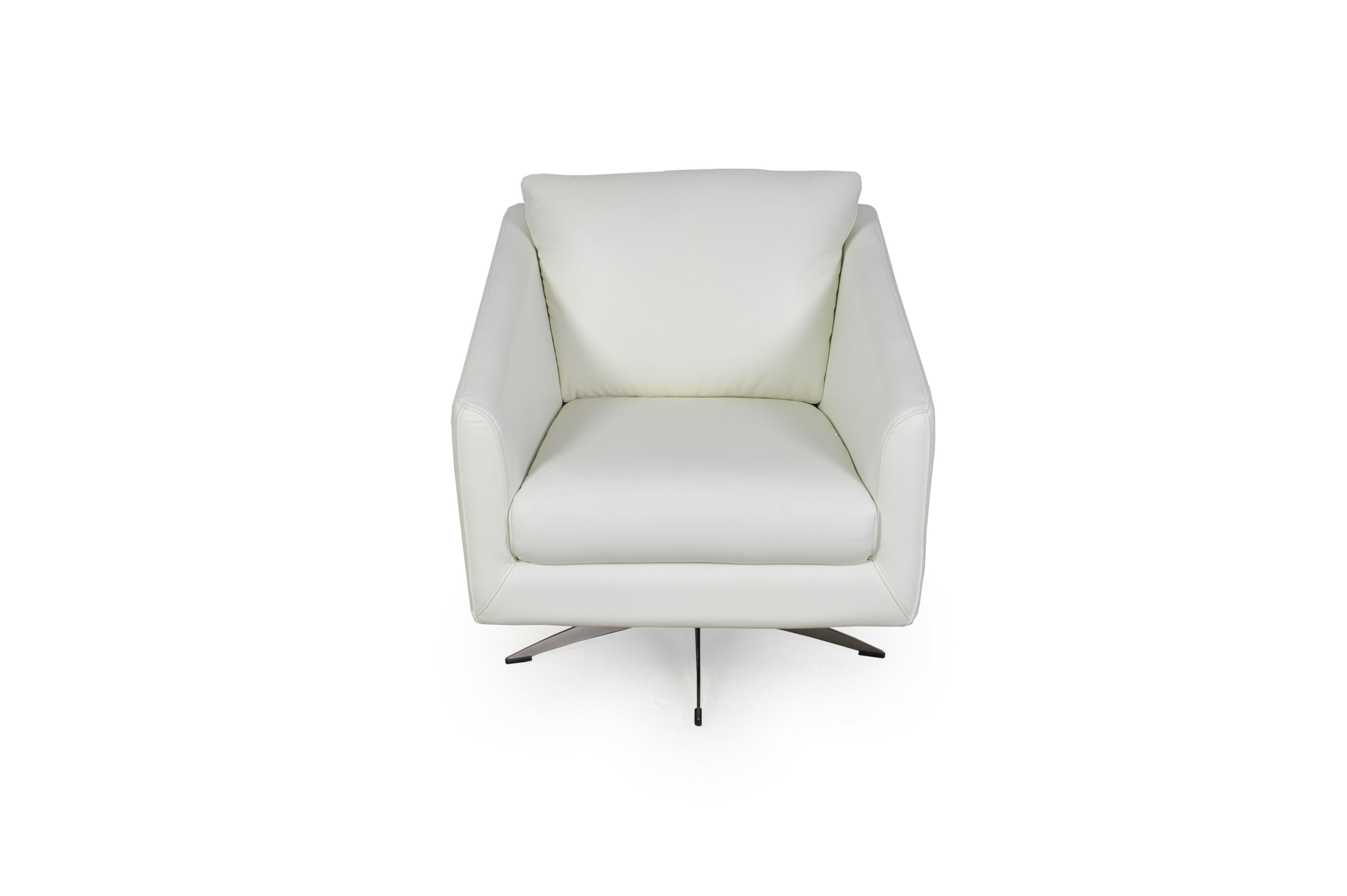Picture of: Moroni Jayden 29 W Top Grain Leather Swivel Club Chair Perigold