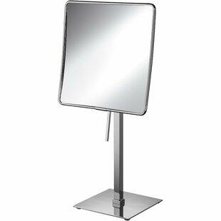 Latitude Run Matchett Square Single-Sided Makeup/Shaving Mirror
