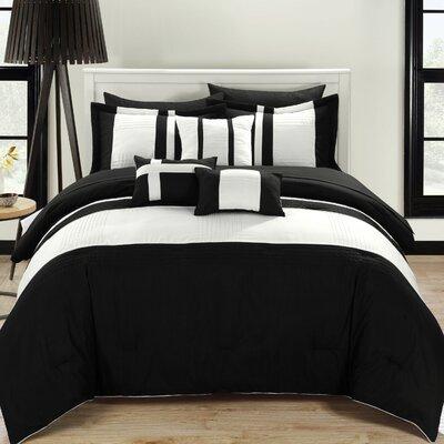 Dudek Comforter Set Wrought Studio Size: Queen