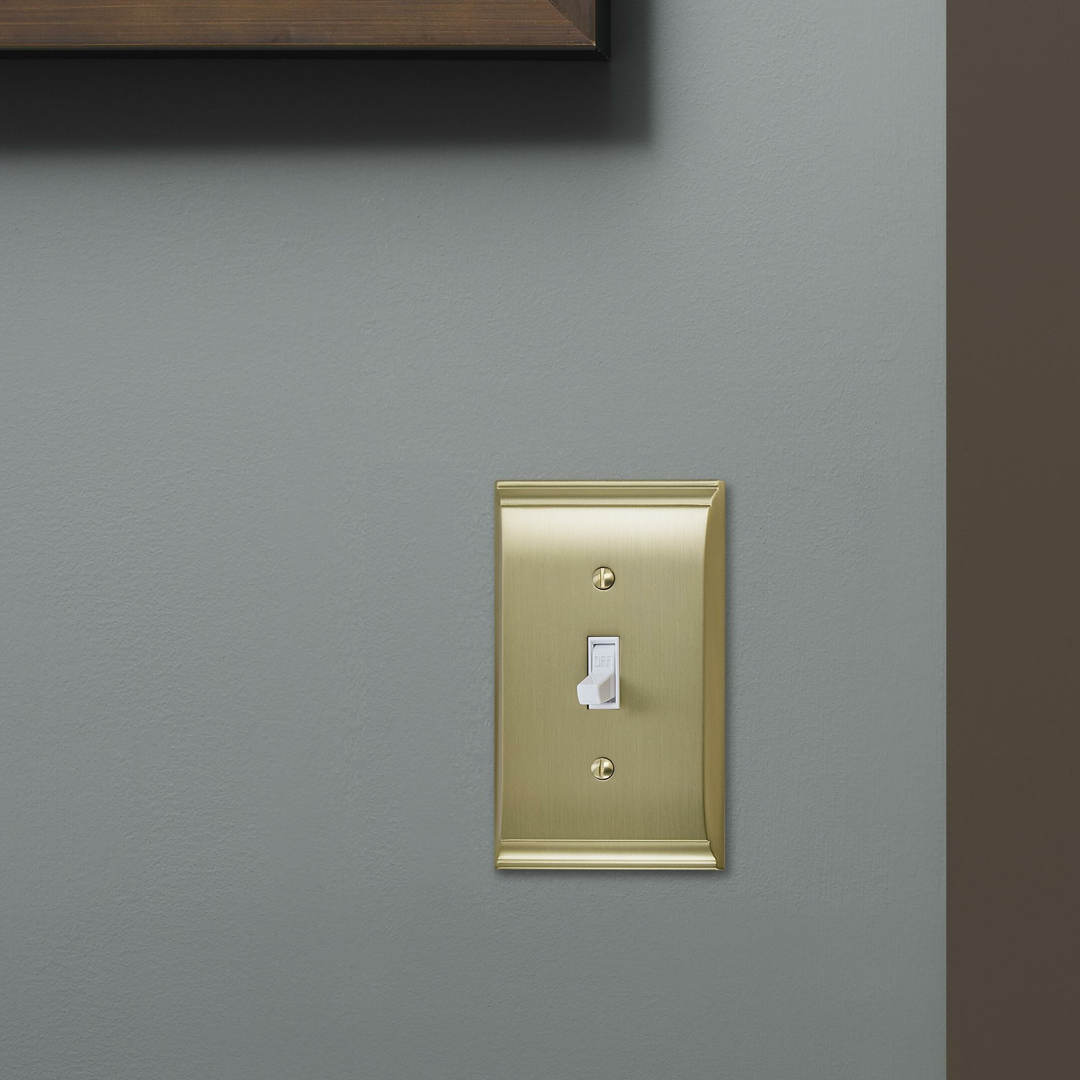 Amerock Candler 1 Gang Toggle Light Switch Wall Plate Reviews Wayfair