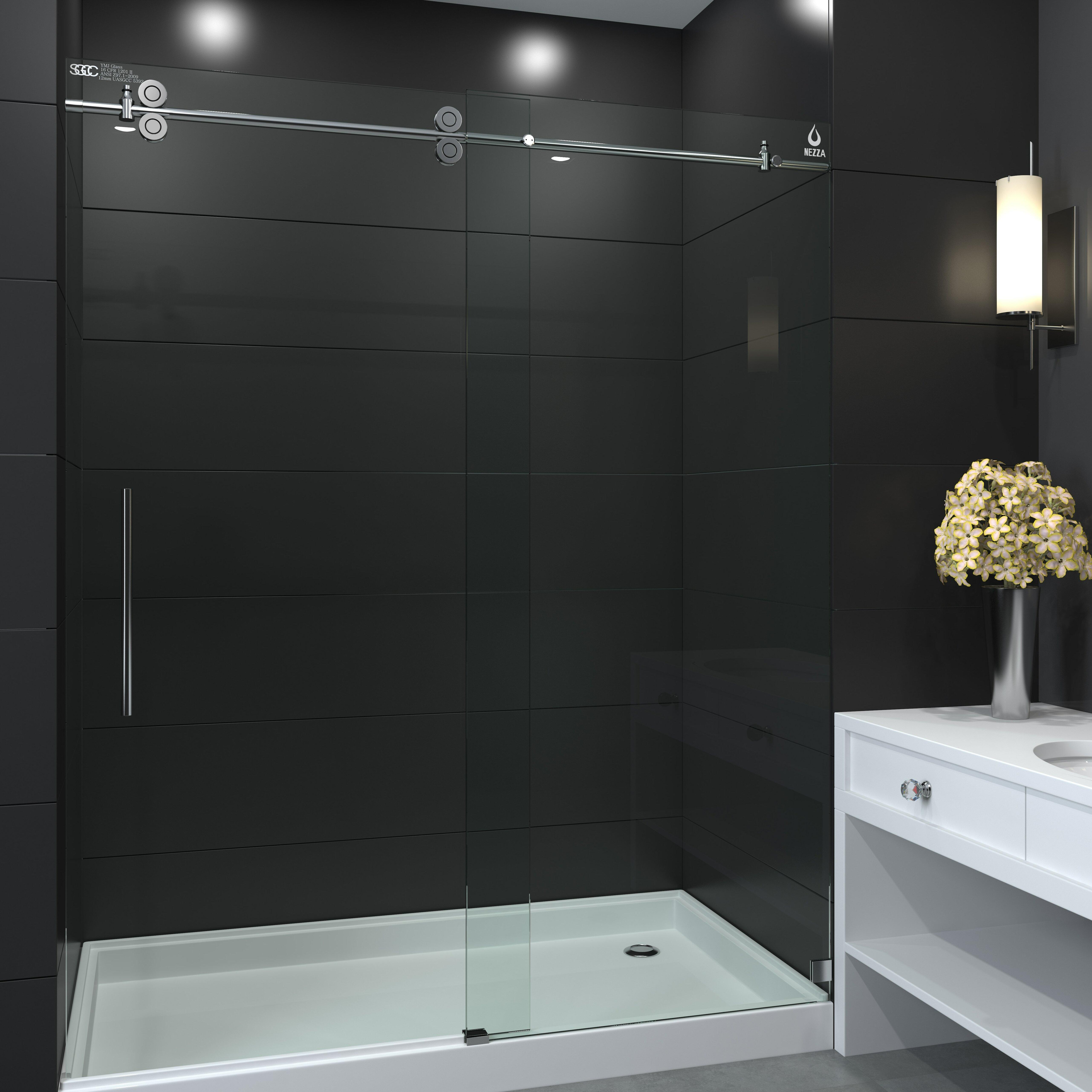 Galaxy Series 60 X 66 Single Sliding Tub Shower Door