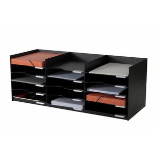 EasyOffice 33.75 Wide Stackable Horizontal Organizer by Paperflow