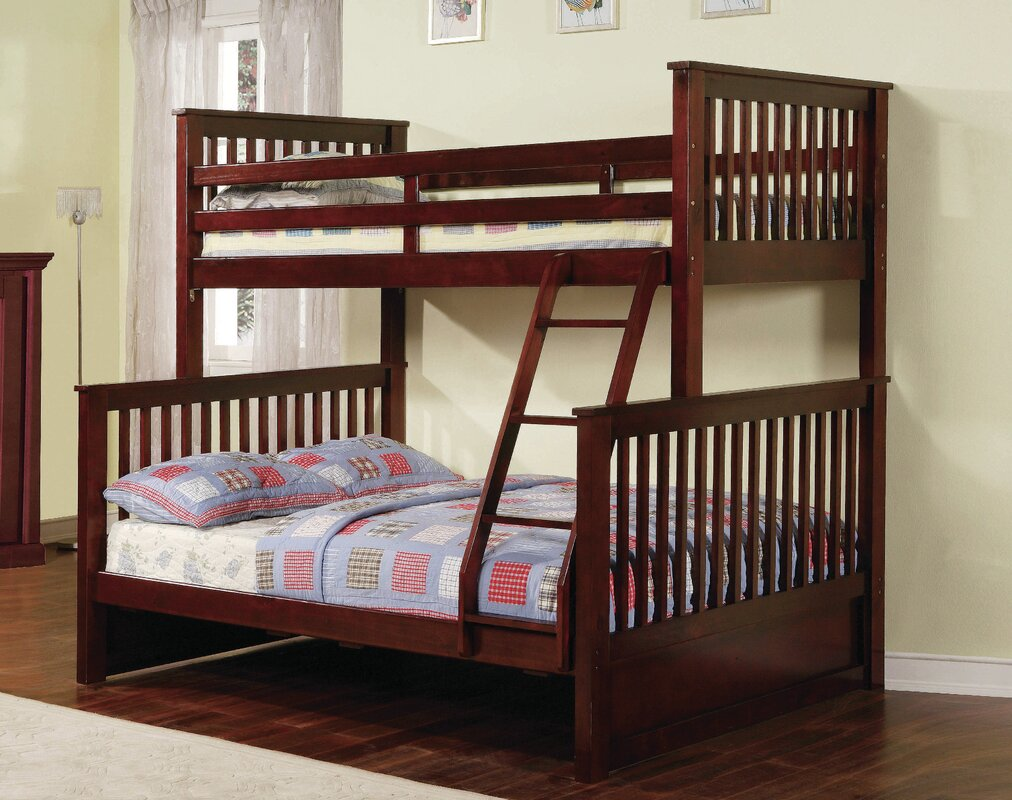 Twin Bunk Beds With Storage Part - 46: Jamarcus Twin Over Full Bunk Bed With Storage