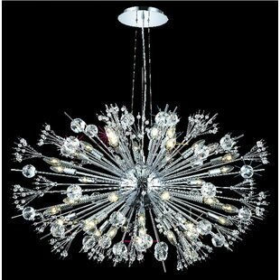 Everly Quinn Drusilla 44-Light Sputnik Chandelier