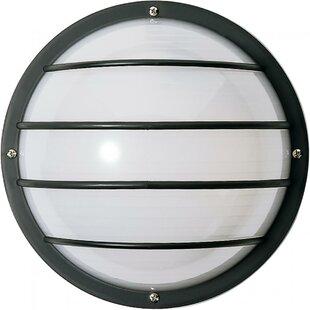Brayden Studio Hively 2-Light Outdoor Bulkhead Light