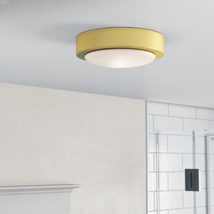 Ebern Designs Ascalon 1-Light Flush Mount