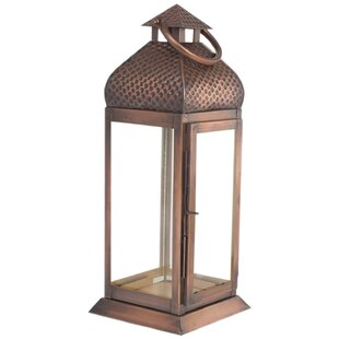 World Menagerie Antique Metal Lantern