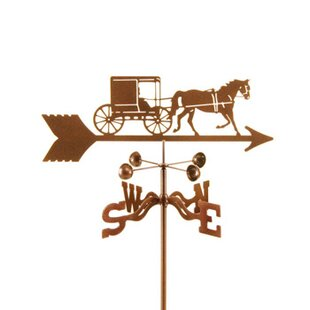 Amish Horse & Buggy Weathervane By EZ Vane Inc