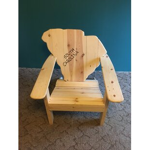 Gast Solid Wood Adirondack Chair by Millwood Pines