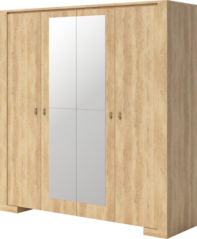 Terrell 4 Doors Armoire