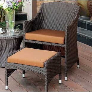 Wortham Patio Chair with Cushion