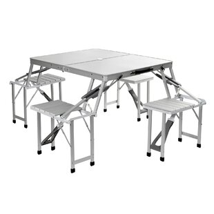 Desalvo Folding Aluminium Camping Table By Sol 72 Outdoor