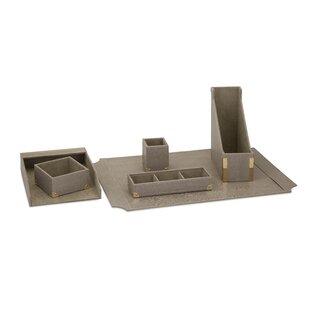 Greyleigh Iraan 6 Piece Desk Accessory Set