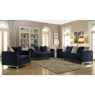 Everly Quinn Franco Configurable Living Room Set