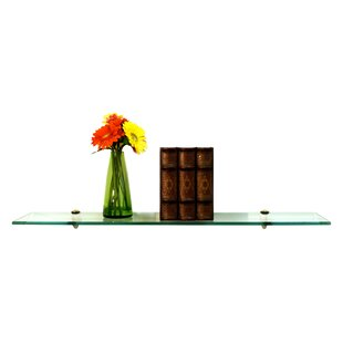 Floating Glass Shelves Wall Shelf