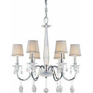House of Hampton Kirkman 6-Light Shaded Chandelier