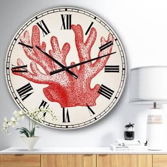 Orren Ellis Oversized Wunibald Wall Clock Wayfair