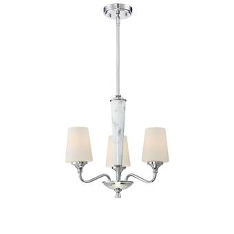 House Of Hampton Brompton 3 Light Candle Style Chandelier Reviews Wayfair