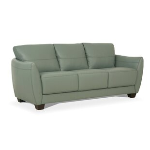 Shop Doud Leather Sofa by Brayden Studio