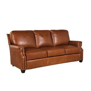 Vasili Leather Sofa by Loon Peak