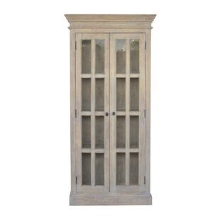 One Allium Way Psyche Double Door Kitchen China Cabinets