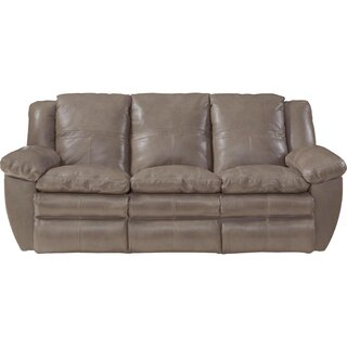 Aria Leather Reclining Sofa by Catnapper SKU:AC666295 Information