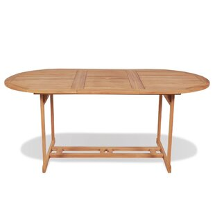 Rosalva Teak Dining Table By Sol 72 Outdoor