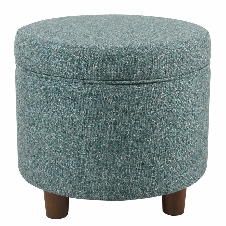 Marvelous Yarmouth Round Storage Ottoman Alphanode Cool Chair Designs And Ideas Alphanodeonline