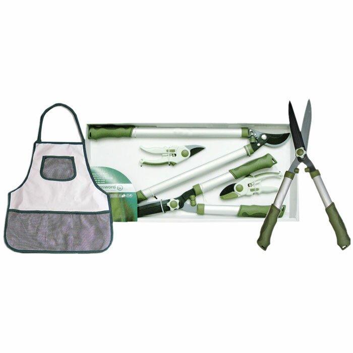 Deeco 4 Piece Cutting Combo Garden Tools Set & Reviews ...