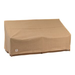 Patio Sofa Cover With Tie Fastener