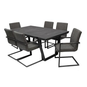 Fullerton 7 Piece Dining Set by Callee