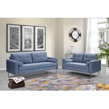 Monti 2 Piece Standard Living Room Set by Everly Quinn