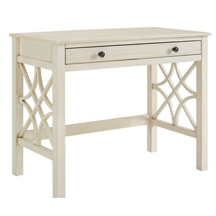 Reviews Vicente Rectangular Desk By Highland Dunes