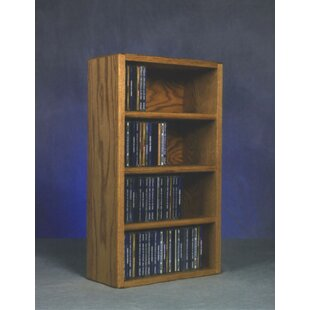 104 CD Wall Mounted Multimedia Storage Rack By Rebrilliant