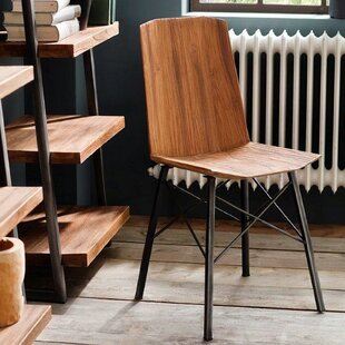 Price Check Port Augusta Industrial Dining Chair (Set of 2) by Union Rustic Reviews (2019) & Buyer's Guide